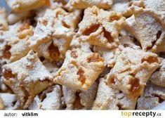 Mrkvové šátečky tety Martiny recept - TopRecepty.cz Czech Recipes, French Pastries, Pavlova, Baking Recipes, Stuffed Mushrooms, Deserts, Food And Drink, Bread, Cookies