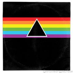 Pink Floyd Dark Side of the Moon Redux Vinyl Mash Up Parody by Whythelongplayfac. - Donnie Lopez - Space Everything Vinyl Cover, Cover Art, Pink Floyd Dark Side, Moon Rock, Vinyl Art, Classic Rock, Music Lovers, Album Covers, Pop Art