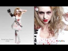 A visual feast of the glamorously undead! Great inspiration for making adult zombie costumes your own. LOVE the Zombie Prom Queen! Halloween Costumes Party City, Halloween Costumes Kids Boys, Zombie Halloween Costumes, Halloween Celebration, Halloween Stuff, Zombie Prom Queen, Zombie Bride, Zombie Cheerleader Costume, Witch Doctor Costume