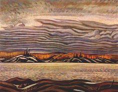 Landscape. Wind, 1907 By A.Y. Jackson