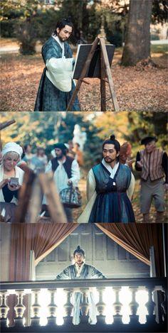 """Saimdang, the Herstory"" Song Seung-heon turns into the 'Joseon Gatsby'"