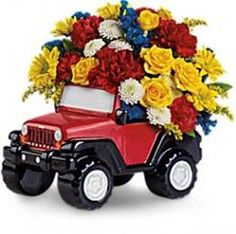 Jeep® Wrangler King Of The Road By Teleflora Giveaway!