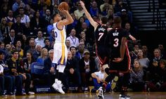 Stephen Curry's Golden State Warriors beat Miami Heat and... #GoldenStateWarriors: Stephen Curry's Golden State… #GoldenStateWarriors