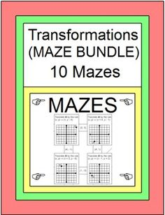 in this bundle. 2 on Reflections, 2 on Rotations, 2 on Translations ...
