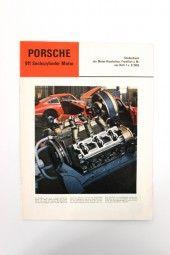 Prospekt Porsche 911 Sonderdruck 1965