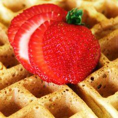Spiced Vanilla Buttermilk Belgian Waffle