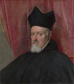 Portrait of Archbishop Fernando de Valdés by Diego Velázquez :  1640