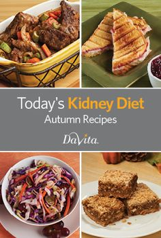 Get comforting kidney-friendly recipes for autumn with this free, downloadable cookbook.