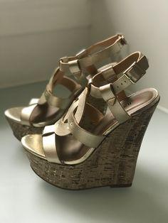 37c169827d2e7 Shoes Heels Boots, Hot Shoes, Cute Wedges, Gorgeous Heels, Air Jordan Shoes