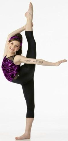 Brooke Hyland is one of the most flexible people I have seen