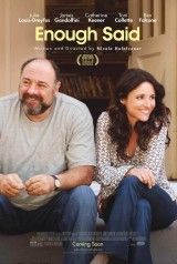 Enough Said. ENOUGH SAID is a sharp, insightful comedy that humorously explores the mess that often comes with getting involved again. Starring James Gandolfini, Julia Louis Dreyfus, and Catherine Keener. Julia Louis Dreyfus, Great Movies, New Movies, Movies And Tv Shows, 2016 Movies, Watch Movies, Latest Movies, Movies Box, Tv Watch