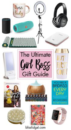 Gift Ideas for the Female Entrepreneur