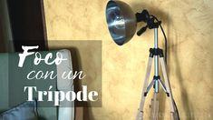 Foco con un trípode (DIY) ikea, Tripod Lamp, Desk Lamp, Table Lamp, Ikea, Sconces, Wall Lights, Diy, Lighting, Home Decor