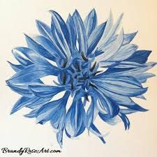 Image result for blue cornflower tattoo