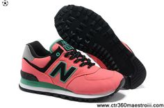 New Balance ML574WBG Fushia White Black For Sale