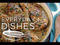White wine chicken recipe VIDEO - Everyday Dishes & DIY