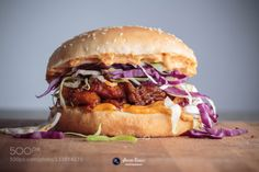 __Pulled pork Sandwich__ by antoniorabelo  IFTTT 500px Canon Canon 6D Chef Delicious Food Food photography Food porn Foodie Home made Light M