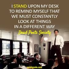 robin williams standing on desk pictures - Google Search