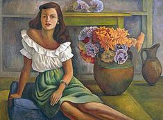 Diego Rivera was a prominent Mexican painter and husband of Frida Kahlo. His large wall works in fresco helped establish the Mexican Mural Movement in Mexican art. Diego Rivera Art, Diego Rivera Frida Kahlo, Mural Painting, Painting & Drawing, Encaustic Painting, Art Latino, Frida E Diego, Mexican Artists, Gustav Klimt