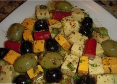 Kelly's Cheese and Olive Marinate ~ - FabFoodies