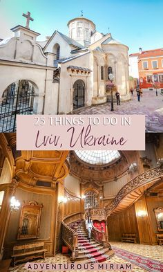 Looking for things to do in Lviv? From beautiful and historic renaissance buildings to themed restaurants here's what to do in Lviv Ukraine. Tunnel Of Love Ukraine, Cool Places To Visit, Places To Go, Europe Travel Tips, Travel Plan, Travel List, Travel Ideas, Travel Guide, Travel Destinations