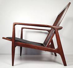 Vintage Danish Modern lounge chair