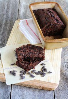 The best way to use up large zucchini: Chocolate Chunk Zucchini Bread Recipe.
