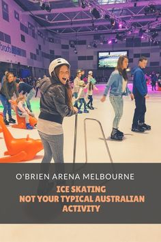 Ice skating in Australia is not your typical Australian activity. Australia is more known for sand and surf. O'Brien arena is changing all that in Melbourne with 2 full size skating rinks. We visited and the kids and there mother loved it