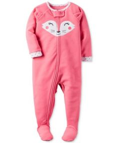 Zip up sweet and snuggly sleepy-time style with Carter's and these adorable…