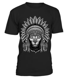 t-shirt Native Lion