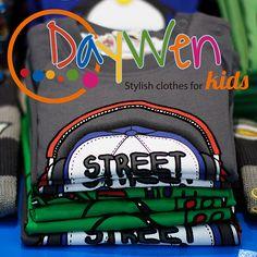 ¡Divertidas camisetas para tus hijos!  Camisetas en algodón y poliéster con divertidos estampados de dibujos animados. Los encuentras para niños y niñas en edades de 3 meses a 2 años. http://www.elretirobogota.com/esp/?dt_portfolio=daywen