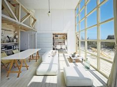 """Articles about dwell guide smart design tiny spaces. """"Design is so simple. Small Space Living, Living Spaces, Living Room, Living Area, Interior Architecture, Interior And Exterior, Home Design, Interior Design, Interior Photo"""