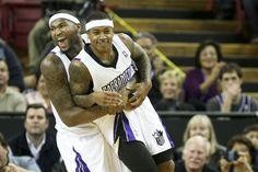 Sacramento Kings DeMarcus Cousins, Isaiah Thomas