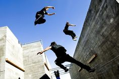 I leaned about Parkour later in life. It wasn't till somebody showed me a video on youtube a few years back that I understood it was a thing.