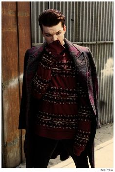 Cameron Monaghan Poses for Interview Photos, Talks The Giver image Cameron Monaghan Interview Magazine