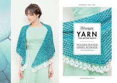 Haakpakket: Deze prachtige omslagdoek staat in de Yarn afterparty 02.