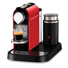 Nespresso! Rated #1 expresso/ coffee machine and of course they start at $400!!