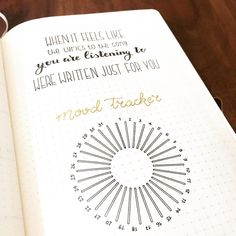 bullet journal mood tracker | music power button | when it feels like the lyrics to the song you are listening to were written just for you
