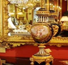 French Urn | Charlotte Nail Antiques Showroom 165 at The Houston Design Center