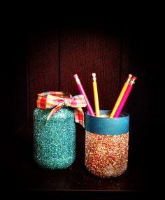 Graham Crafter Project #14: Glitter Jars