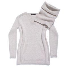 Loro Piana scollo v winterland cashmere coarsehair®