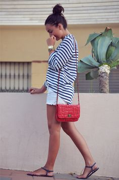 #fashion #moda #blog #blogger #fashionblogger #outfit #look #streetstyle #ootd #navy #red