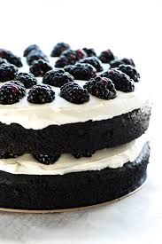 Blackberry Discover black velvet cake with blackberry and cream cheese filling frosted with vanilla bean bakery buttercream Cupcakes, Cupcake Cakes, Köstliche Desserts, Delicious Desserts, Black Velvet Cakes, Black Velvet Cake Recipe, Cake Recipes, Dessert Recipes, Galaxy Cake