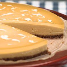Mango cheesecake without baking - Kuchen ohne Backen - Gateau Easy Homemade Desserts, Easy Chocolate Desserts, Chocolate Cake Recipe Easy, Chocolate Cookie Recipes, Homemade Cake Recipes, Mango Cheesecake, Easy Cheesecake Recipes, Dessert Cake Recipes, Easy Cookie Recipes