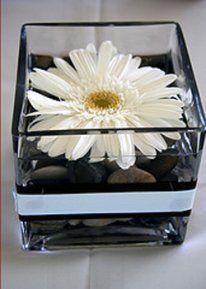 gerbera daisy centerpiece