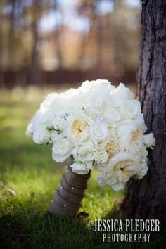Wedding bouquet by Boyd's blossoms