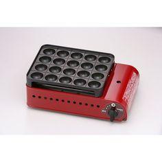 たこ焼きの名品「炎たこ」をフルモデルチェンジ。日本製になって究極のたこ焼き器となりました。