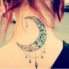 half moon tattoo