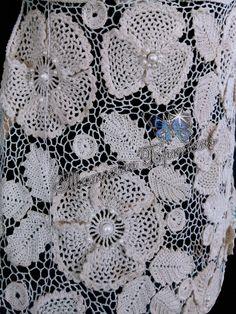 Льон та бавовна. Гачок №0,6; 1 #gardensstyle Blanket, Crochet, Ganchillo, Blankets, Cover, Crocheting, Comforters, Knits, Chrochet