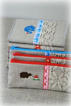 new cross-stitched items in store by Katia Donohoe, via Flickr